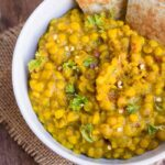 Easy Indian Chana Dal Recipe with a Simple Quinoa Flatbread