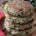 Vegetarian Eggplant Quinoa Burgers