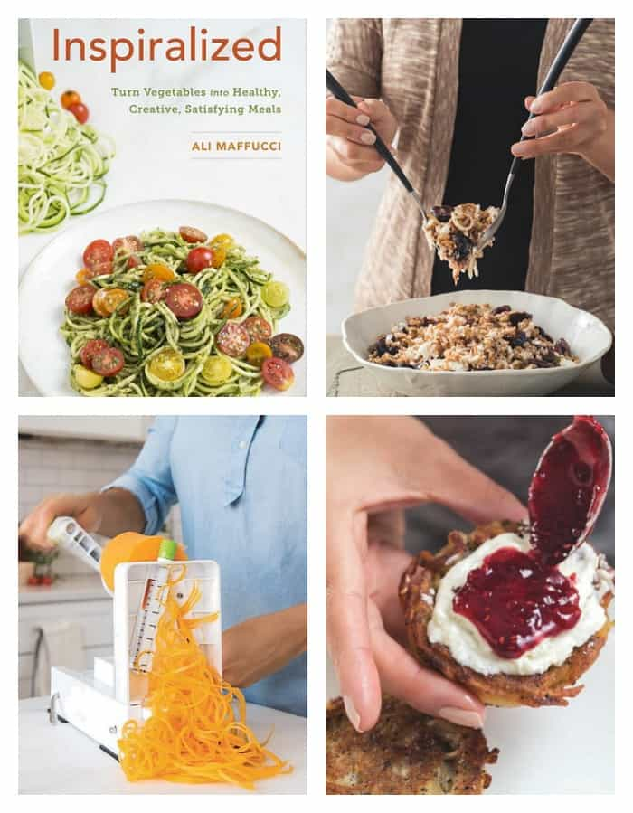 Learn how to Spiralize Vegetables with the Inspiralized Cookbook!