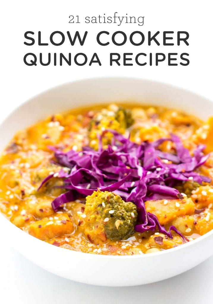 21 Satisfying Slow Cooker Quinoa Recipes
