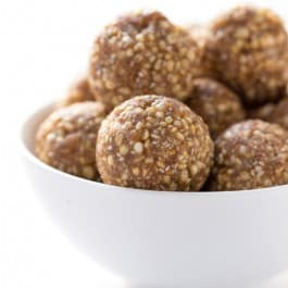 Vegan Snickerdoodle Energy Bites