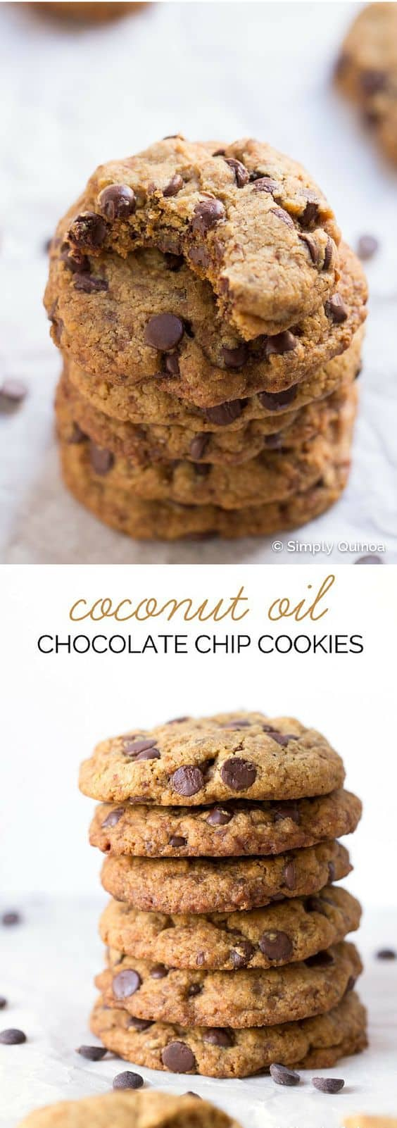 These cookies are AMAZING and guess what...they're made without butter, white flour, refined sugar AND eggs!! That's right they're gluten-free, vegan and they are CRAZZZY delicious!