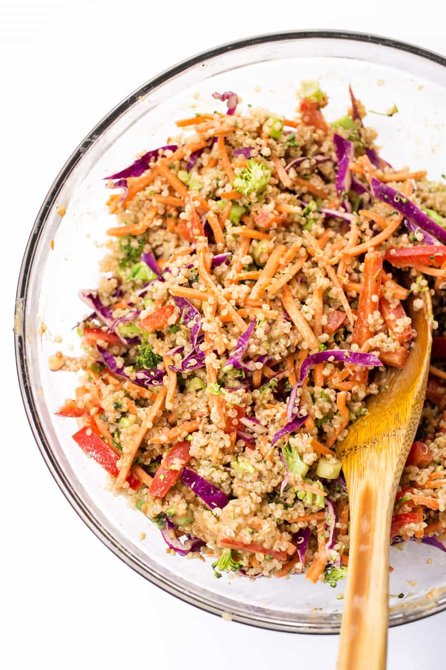 How to make the BEST thai quinoa salad ever!