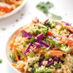 Almond Butter Thai Quinoa Salad