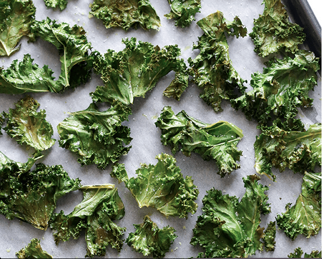 Kale Chips + 6 other tips for incorporating more greens into your diet (that aren't salads!)