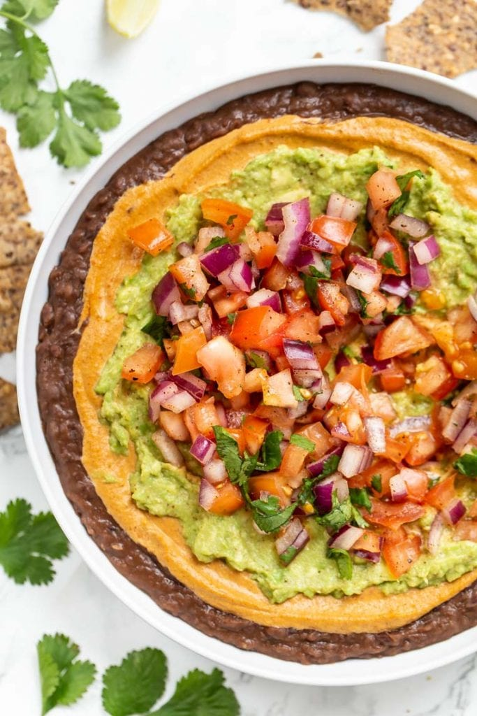 Vegan Refried Bean Dip