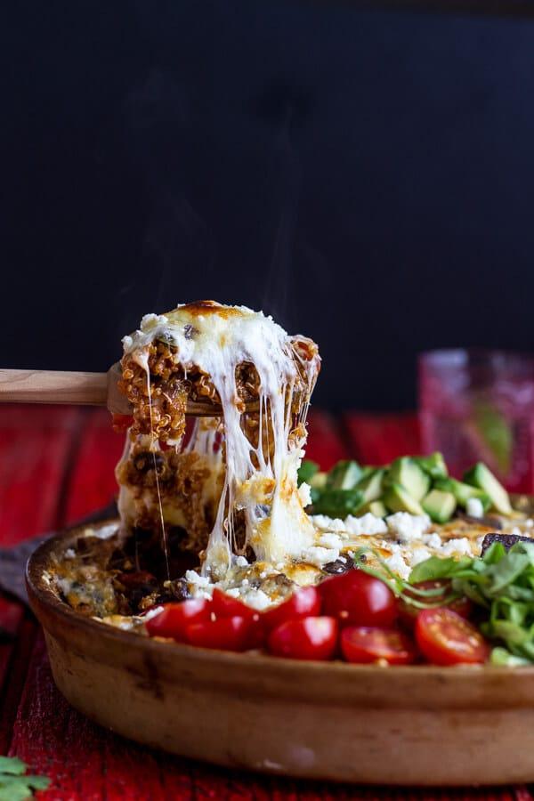 Quinoa Taco Bake