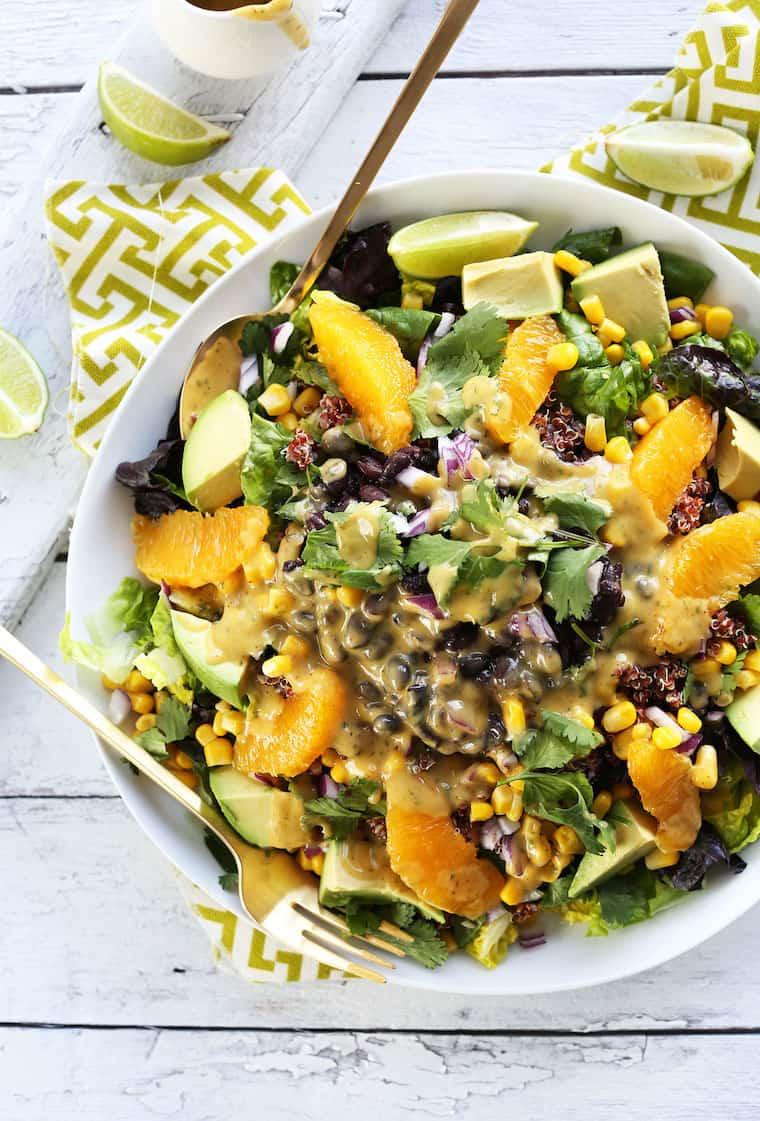 Mexican Quinoa Salad Recipe Minimalist Baker