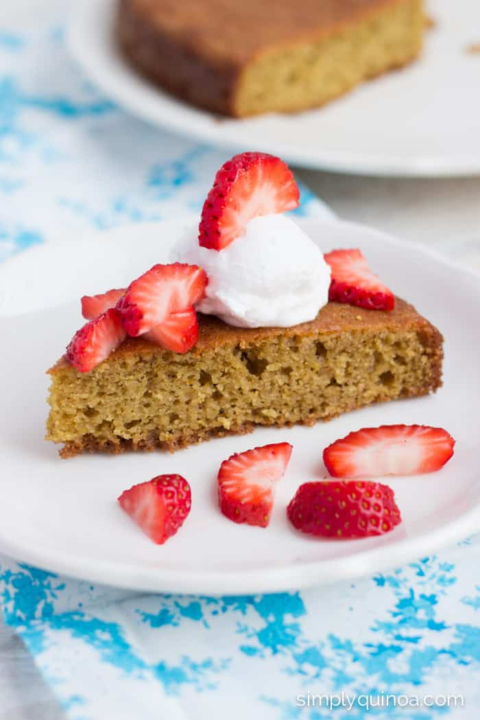 Clean Eating Orange-Almond Flour Cake [gluten-free]