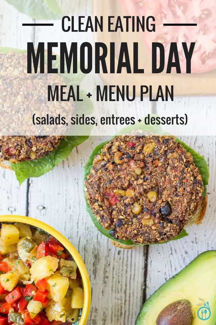 This Memorial Day Meal Plan will make sure you and your family are eating healthy and delicious food, instead of processed junk!