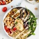 Mediterranean Quinoa Bowls