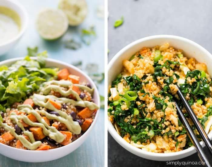 Healthy Quinoa Bowl Recipes | www.simplyquinoa.com