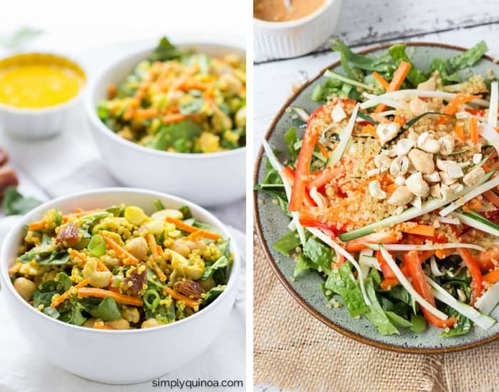 Healthy Quinoa Salad Recipes | www.simplyquinoa.com