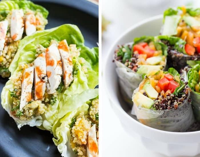 Healthy Quinoa Wrap Recipes from simplyquinoa.com