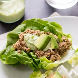 Skip the tortillas and wraps and try these instead >> Mushroom + Quinoa Lettuce Wraps | simplyquinoa.com