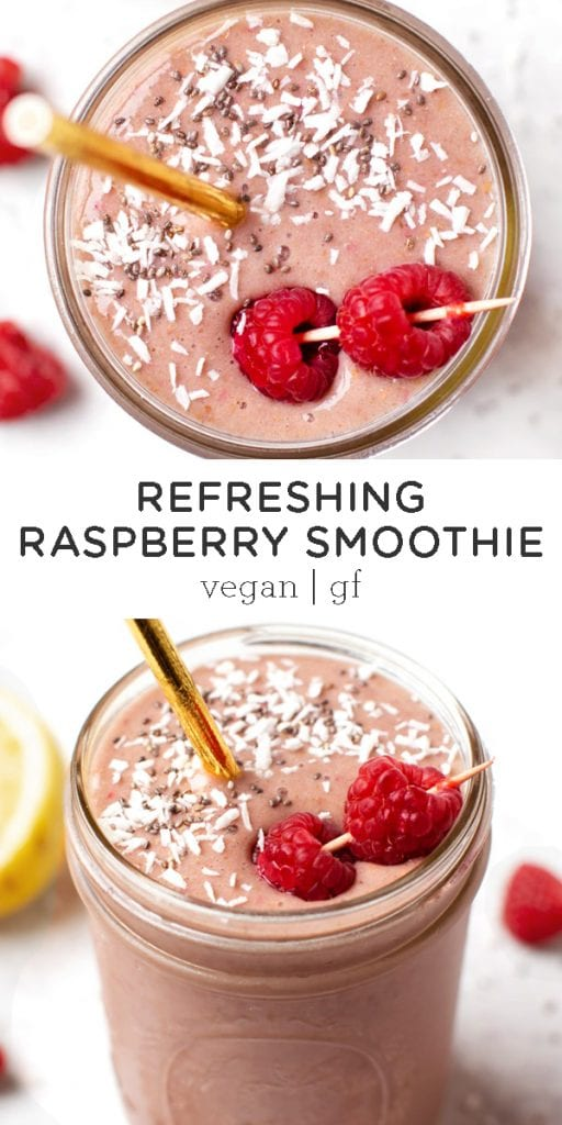 Refreshing Raspberry Smoothie