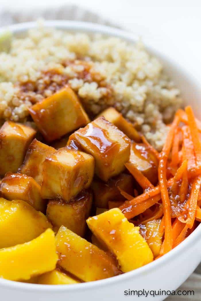 Healthy Teriyaki Quinoa...it's quick, easy and SO delicious!