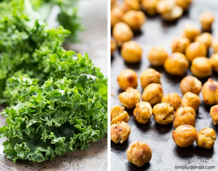 How to make the most epic vegetarian kale salad ever!