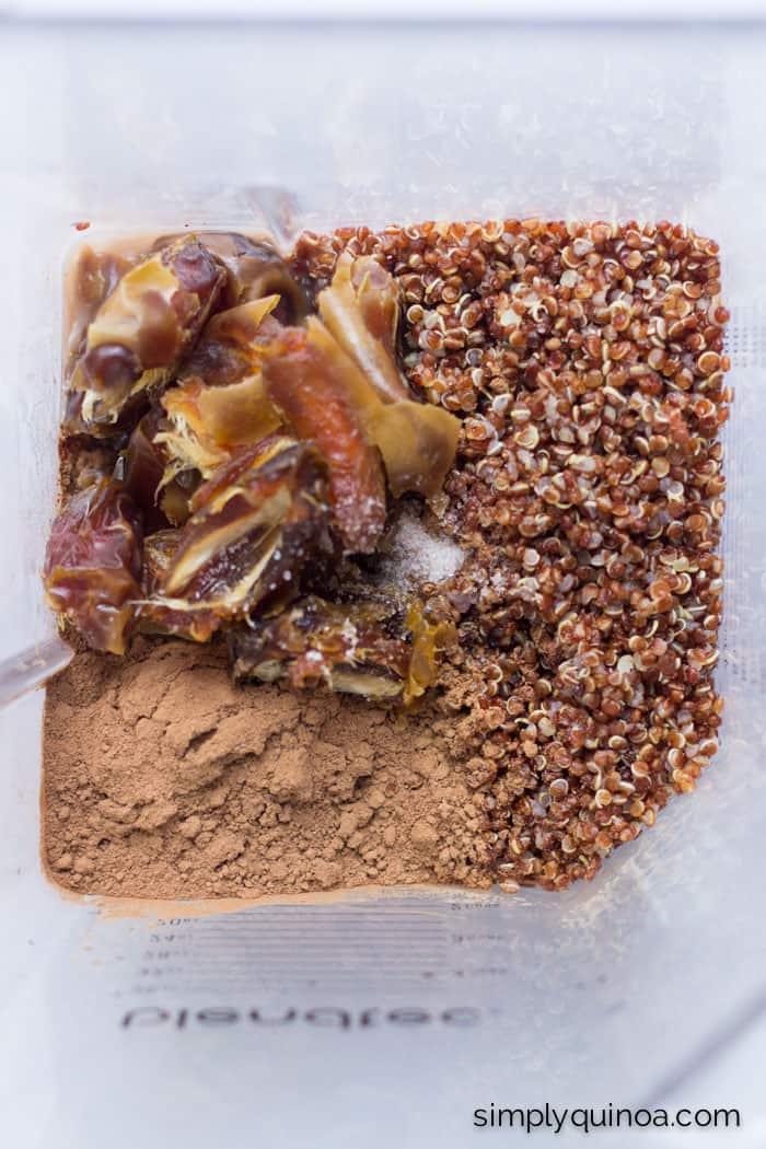 How to make the perfect chocolate quinoa pudding | www.simplyquinoa.com