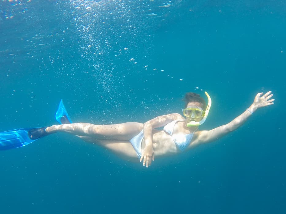 Snorkeling in Costa Rica | www.simplyquinoa.com