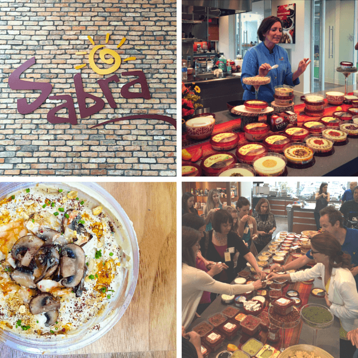 Visiting the Sabra factory as part of the 2015 Sabra Tastemakers Group