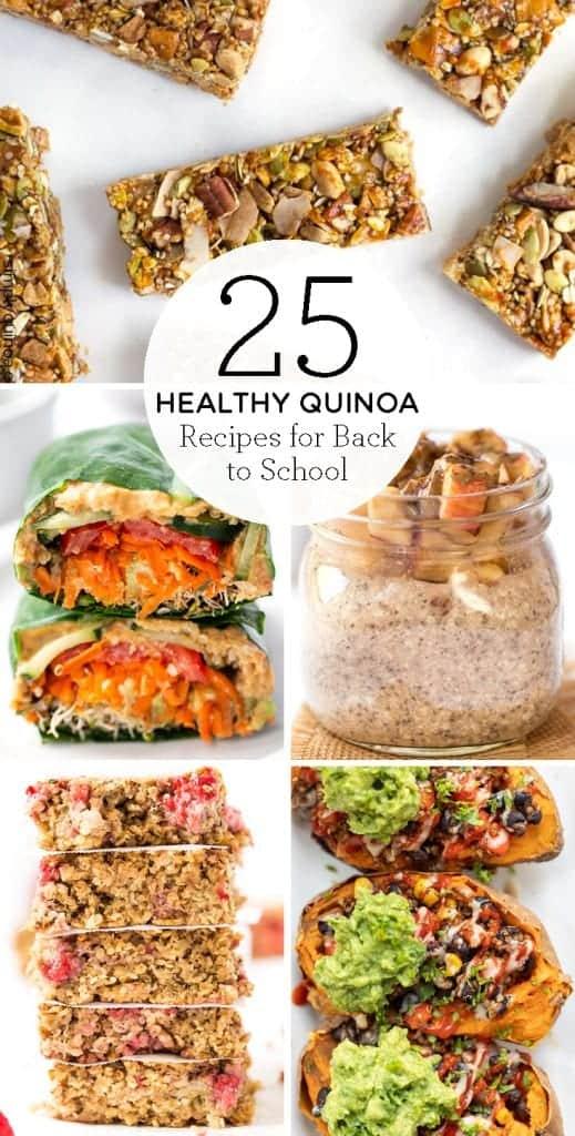 25 Quinoa Recipes for back-to-school