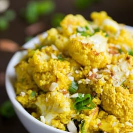 Curried Cauliflower Quinoa Salad