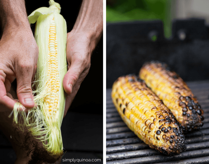 How to make the ultimate summer salad with grilled corn | simplyquinoa.com