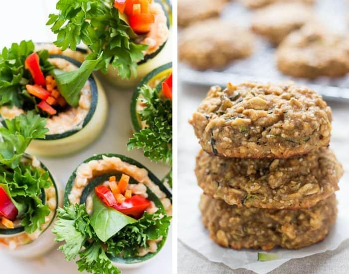 Healthy Zucchini Recipes from simplyquinoa.com