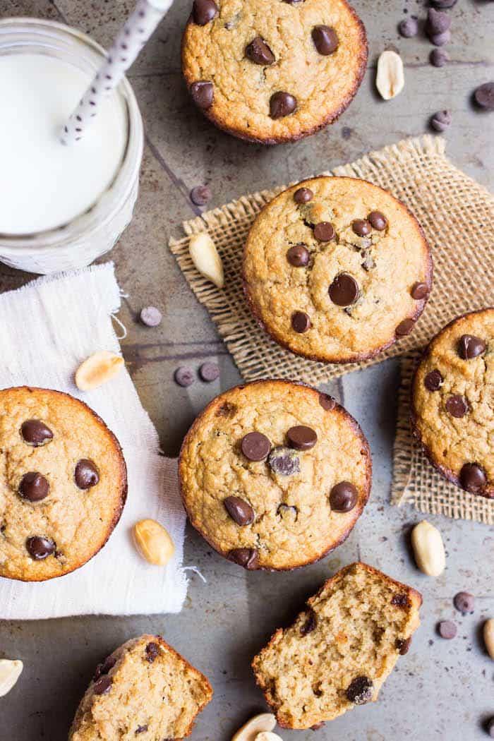 Flourless Peanut Butter Quinoa Muffins as part of the NEW Quinoa for Breakfast Cookbook from Alyssa Rimmer
