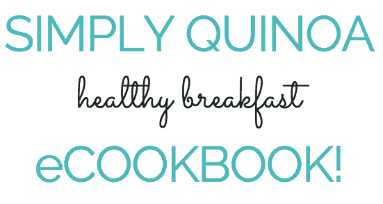 Simply Quinoa Healthy Breakfast Ebook - find out more in our private Facebook Group!