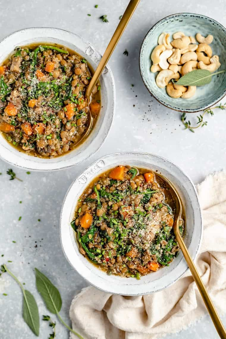 One-Pot Lentils and Quinoa Recipe