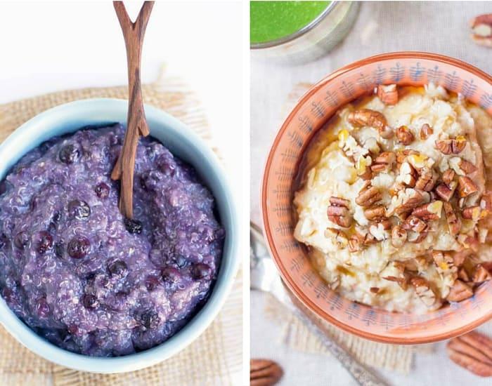 Healthy Quinoa Porridge Recipes via simplyquinoa.com