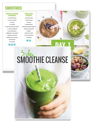 The 3-day Smoothie Cleanse from Alyssa Rimmer of simplyquinoa.com
