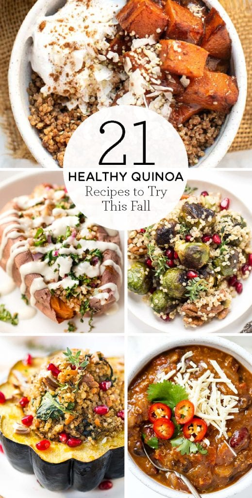 21 healthy quinoa recipes to try this fall