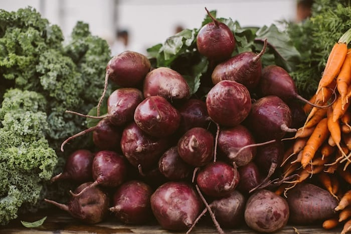 Fresh beets make the most delicious (and nutritious) salad!