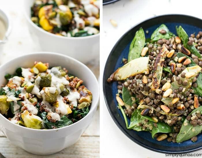 Healthy Fall Quinoa Salads from simplyquinoa.com