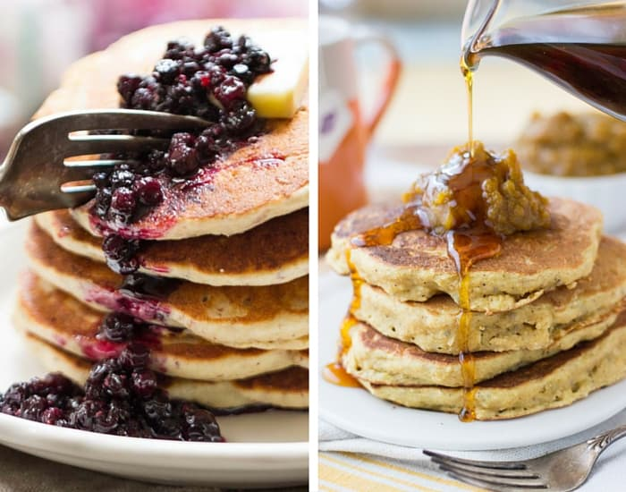 Healthy Quinoa Pancake Recipes from simplyquinoa.com