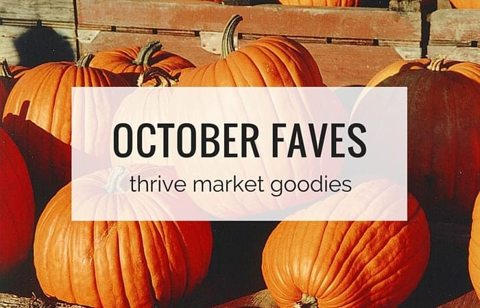 October Faves - my Thrive Market Goodies from simplyquinoa.com