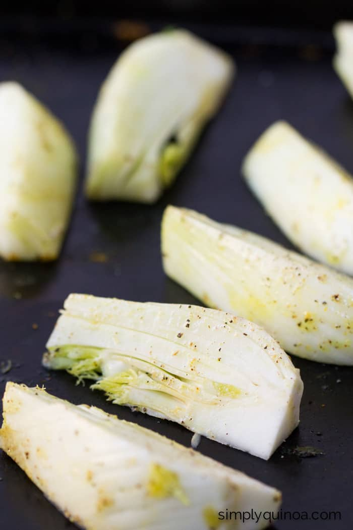 Roasted Fennel -- the perfect addition to any winter meal. Warm, smoky and slightly sweet it's absolutely amazing!