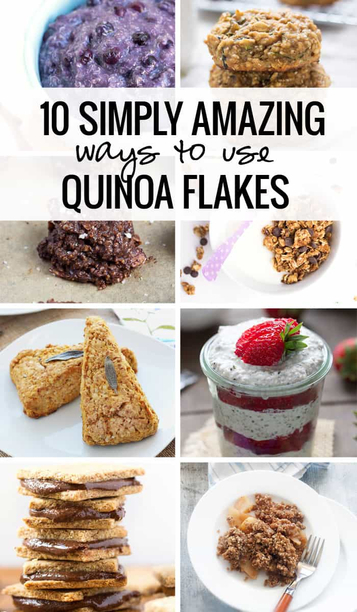 10 amazing ways to use quinoa flakes simply quinoa 10 simply amazing ways to use quinoa flakes plus everything you need to know about where ccuart Images