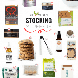 Gluten-Free + Vegan Stocking Stuffers