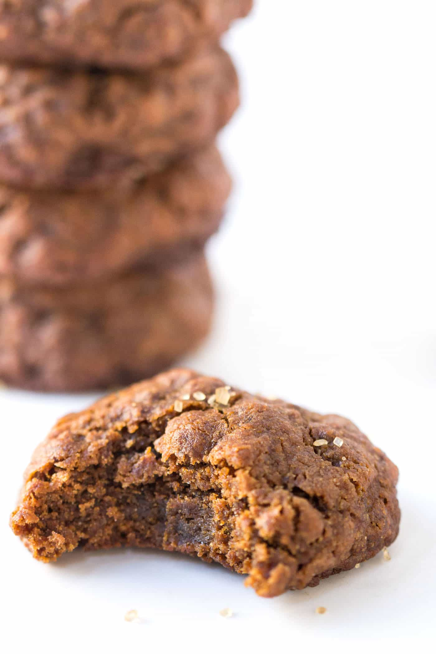 Vegan Gingersnaps -- the perfect cookie to take to my next holiday cookie swap. Everyone will love them!