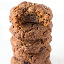 Vegan Gingersnaps with Quinoa Flour