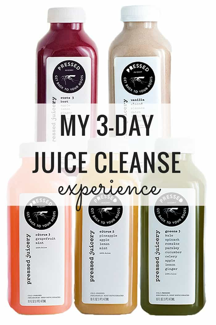 My 3-Day Juice Cleanse Experience -- what I learned, what I changed, and would I do it again...