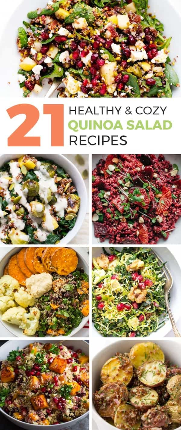 healthy quinoa salad recipes for fall