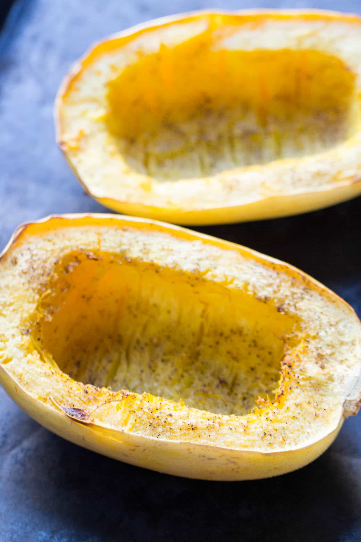 How to make perfect spaghetti squash every single time -- plus a recipe for pesto spaghetti squash boats (with quinoa!)