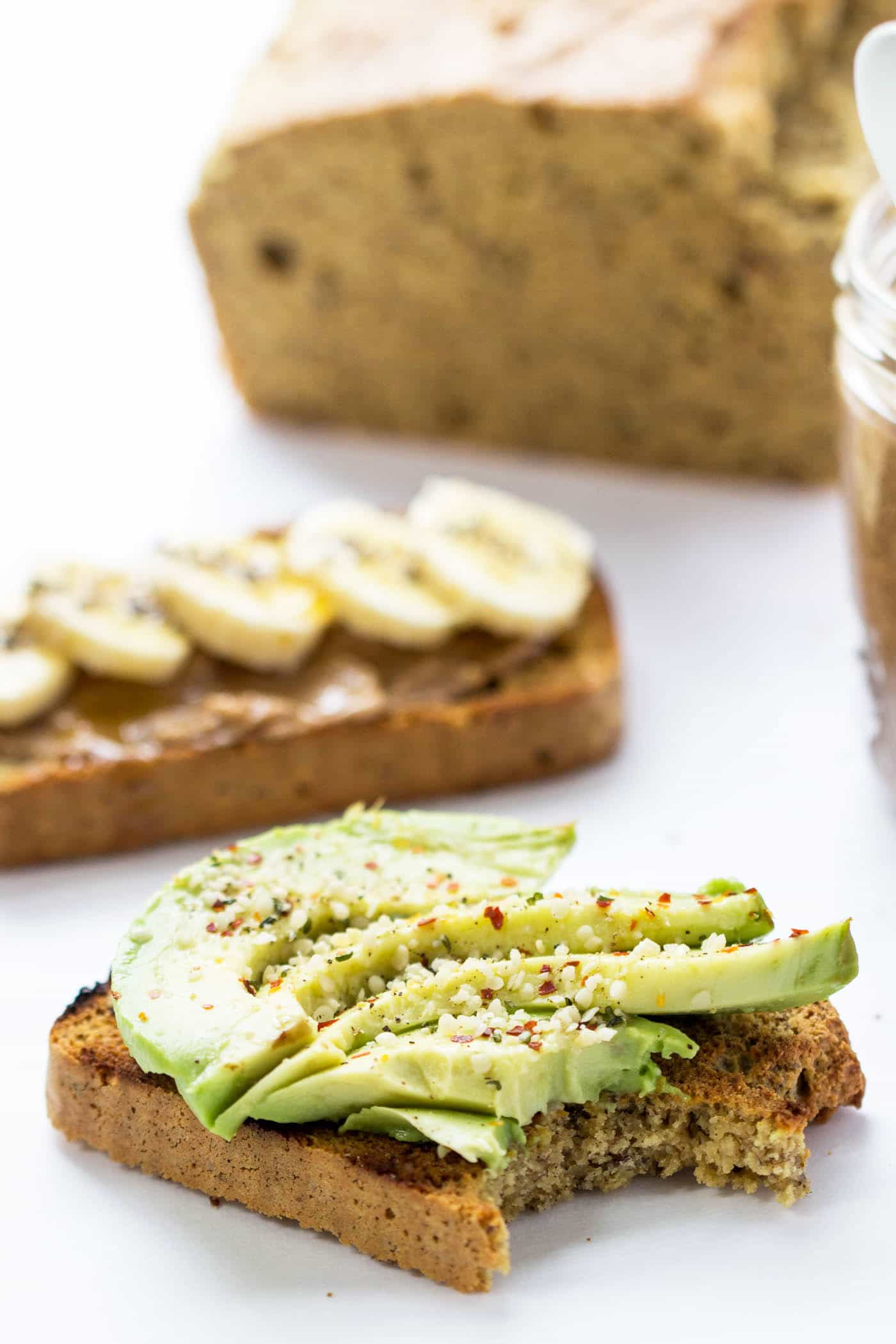 Healthy almond flour bread is the BEST base for avocado toast