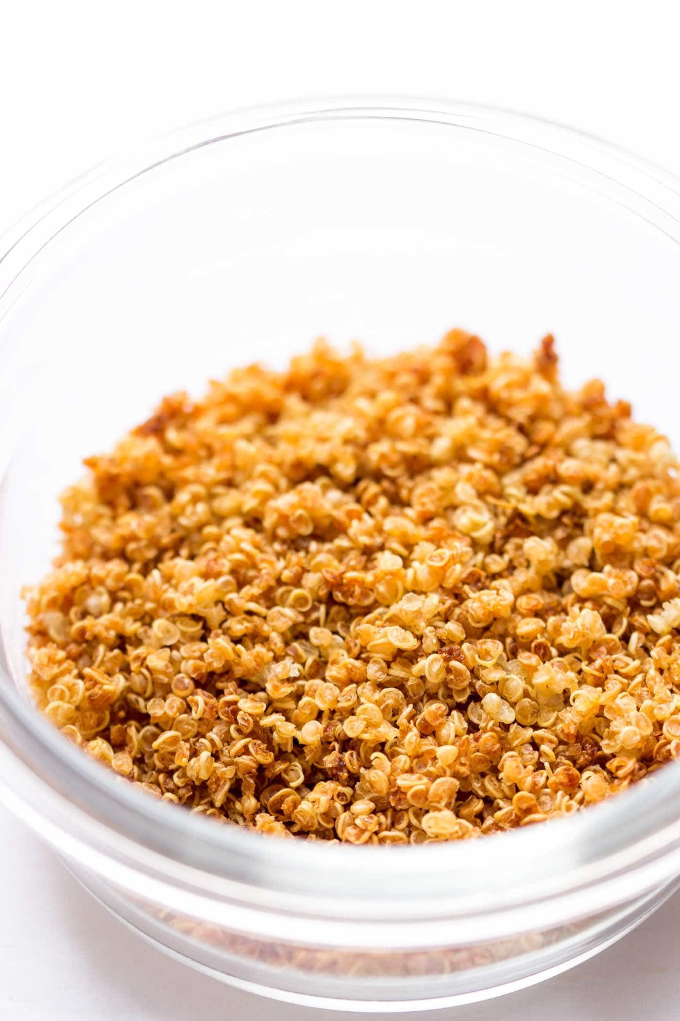 How to make Quinoa Crispies with just cooked quinoa!