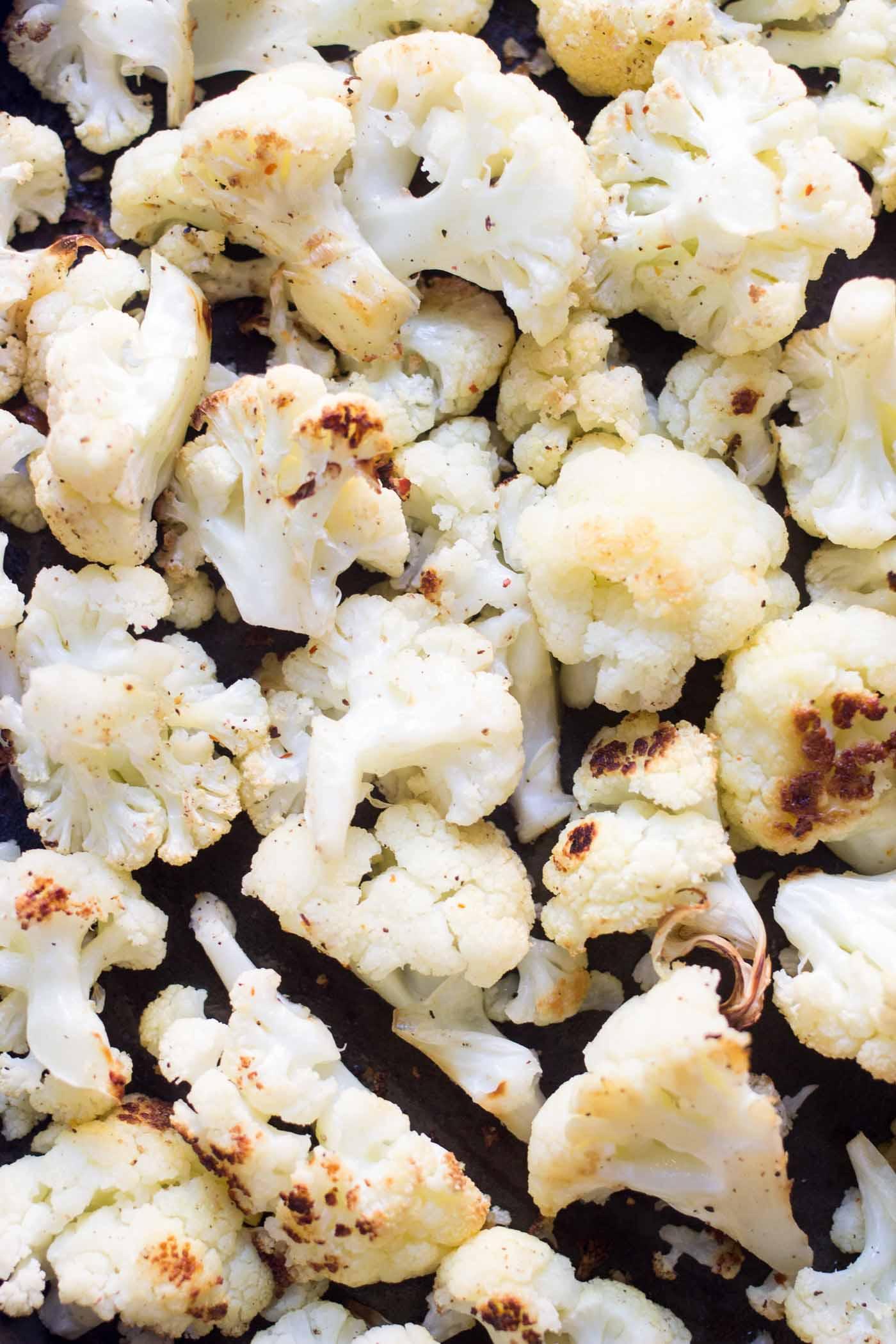 How to make perfectly roasted cauliflower PLUS a cauliflower chowder recipe!